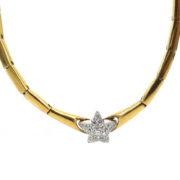 Gerard 0.35ct DE/VS Diamond Pave Star 18K Gold Necklace GT6-4