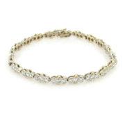 Gerard 3.0ct DE/VS Diamond Bezel Set 18K Gold Bracelet GT9-2