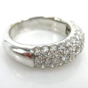 Rare Gerard 1.40ct EF/VS-VVS Perfect Cut Diamond 18K White Gold Ring  GT11-3