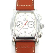 Rare New Waltham LW 48 Men's Chronograph Date Automatic Stainless Steel Chronometer Watch WN37-5