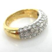 Rare Gerard 1.20ct DE/VS-VVS Perfect Cut Diamond Platinum & 18K Gold Ring  GT11-5