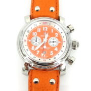 Rare Waltham Lone Eagle SW 45 Automatic Chronograph GMT Date Men's Watch WN38-7