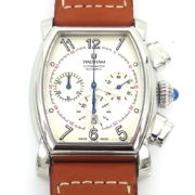 Rare New Waltham LW 48 Men's Chronograph Date Automatic Stainless Steel Chronometer Watch WN37-8