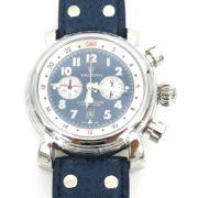 Rare Waltham Lone Eagle SW 45 Automatic Chronograph GMT Men's Watch WN37-10