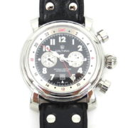 Rare Waltham Lone Eagle SW 45 Automatic Chronograph GMT Men's Watch WN37-11