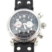 Rare Waltham Lone Eagle SW 45 Automatic Chronograph GMT Men's Watch WN37-12