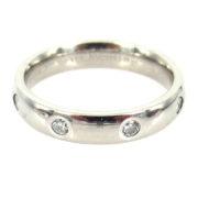 Estate Benchmark 0.40ct Diamond & Platinum Comfort Fit 3.65mm Wedding Band PB1-004
