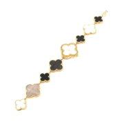Van Cleef & Arpels Alhambra Mother of Pearl 18K Gold Watch VCARO40P00 ZC17-008